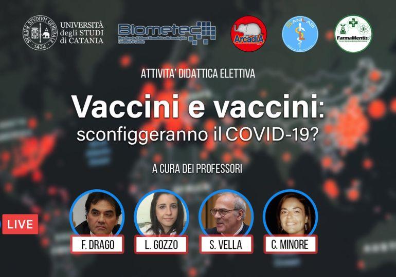 """Webinar: """"Vaccini e vaccini: sconfiggeranno il Covid-19?"""""""