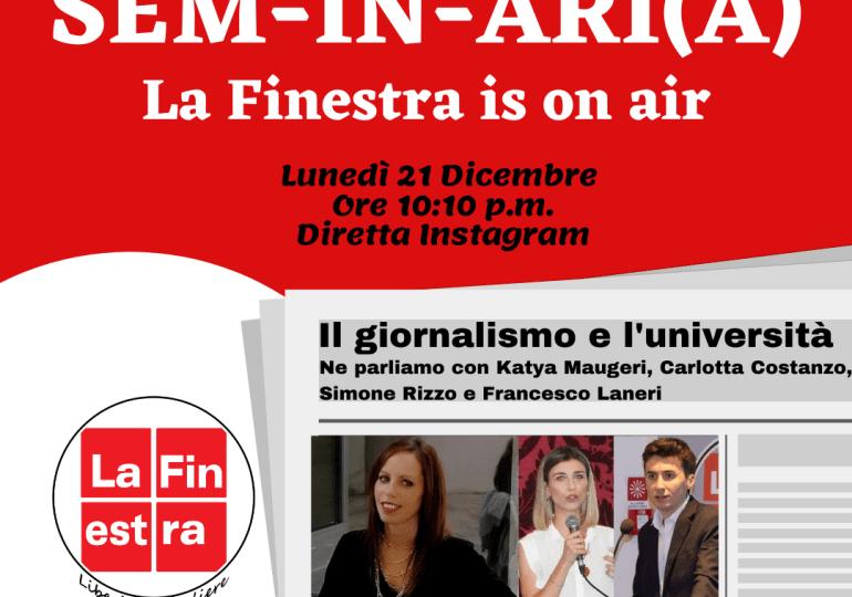 Un nuovo modello per la cultura online: iSem-in-ari(a) – La Finestra is on air