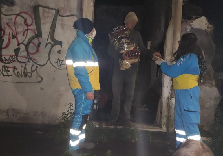 """La Misericordia di Bronte in prima linea per portare un po' di """"calore"""" ai tanti senzatetto di Catania."""