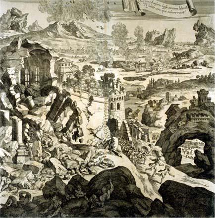 Caltagirone, anniversario del terremoto del 1693