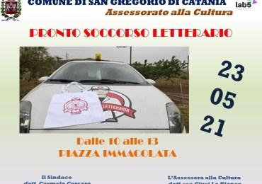 """A San Gregorio arriva la libreria ambulante per """"vaccinare"""" chi legge"""