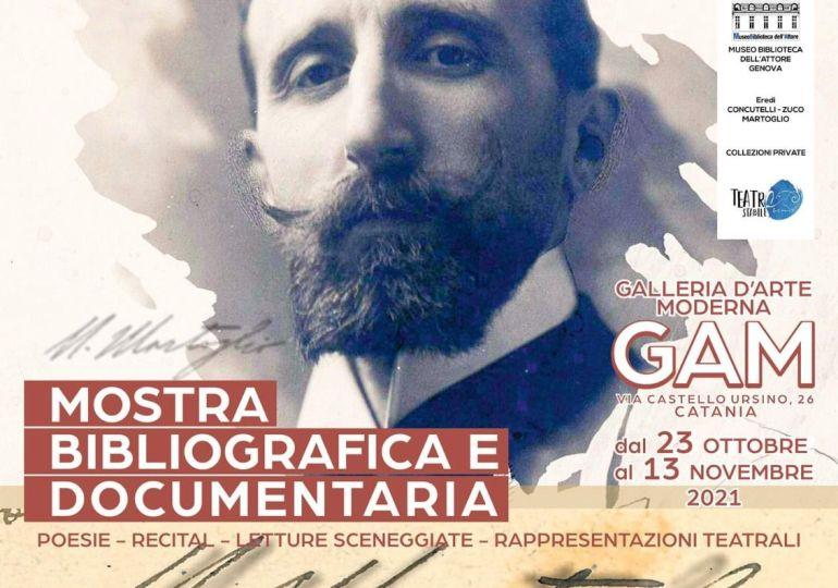 Per il centenario della morte di Nino Martoglio una mostra documentario alla GAM