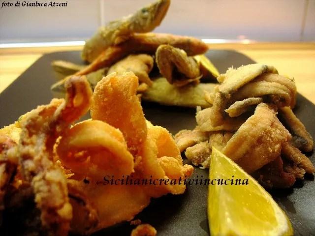 Frittura Di Pesce Con La Semola Siciliani Creativi In Cucina