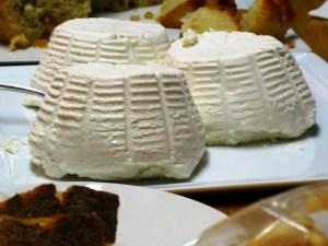 Supreme ricottine di bufala, che abbiamo mangiato con il miele delle api nere dei Nebrodi