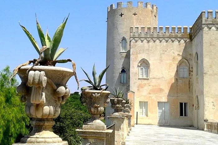 Le château de Donnafugata