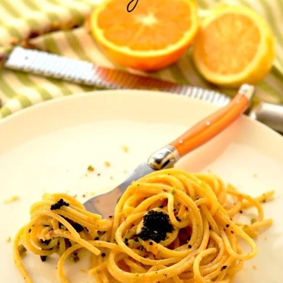 Spaghetti al profumo di agrumi: primo piatto pronto in 10 minuti