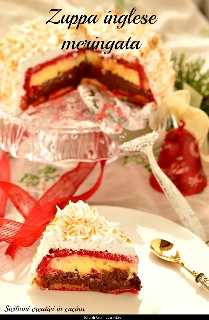 Meringue trifle