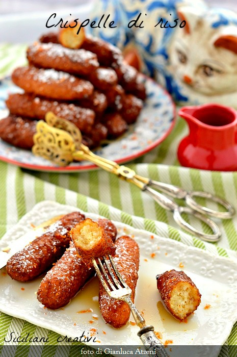 Sicilian sweet rice Crispelle