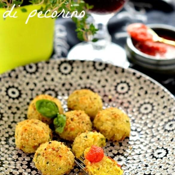 Polpette di pecorino alla siciliana (al forno)