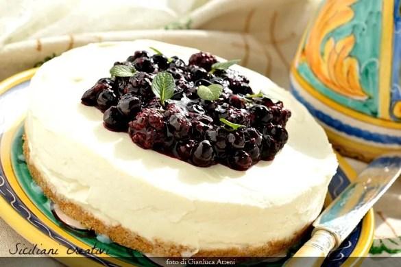 Cheese cake senza cottura, cremosa e senza colla di pesce