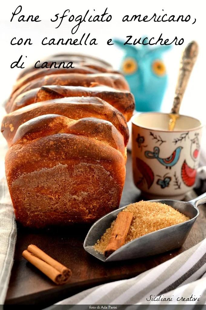 皮をむいたシナモンのパン (プル離れてパン)