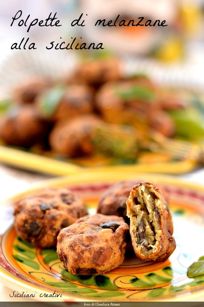 Sicilian Eggplant patties