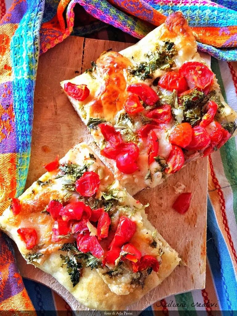 Focaccia messinese style: original recipe