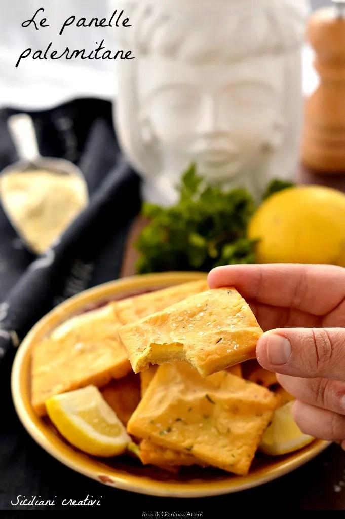 harina de garbanzo panelle: receta original de Sicilia