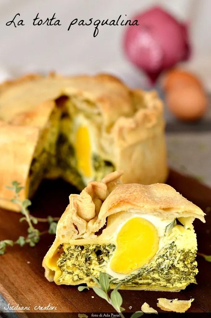 Torta pasqualina, l'étape de la recette d'origine par l'étape