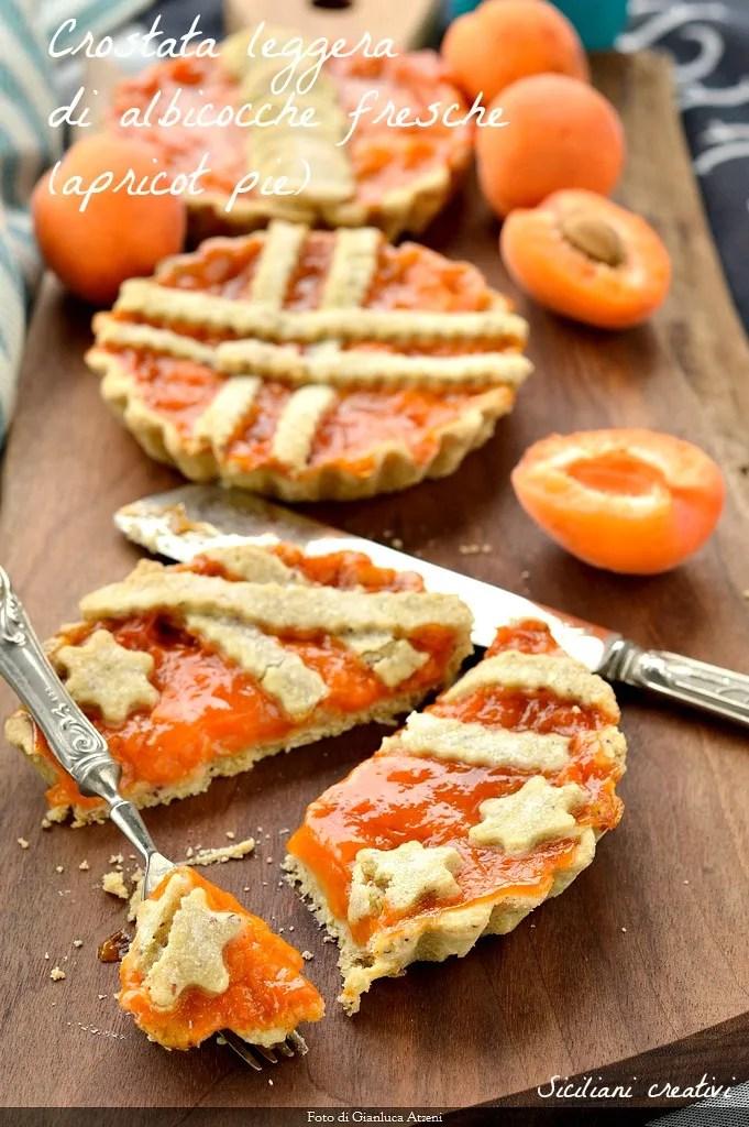 Tarts frische Aprikosen (Aprikosenkuchen)