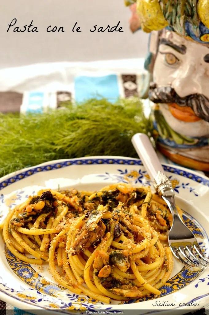 Pasta with sardines (Sicilian original recipe)