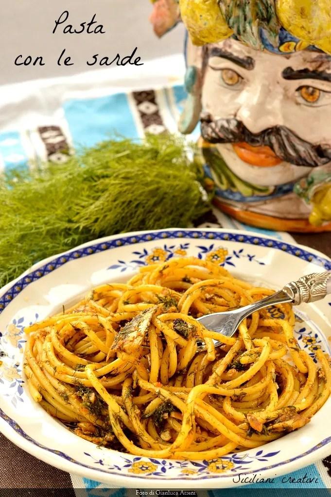 Pasta with sardines (Sicilian recipe)