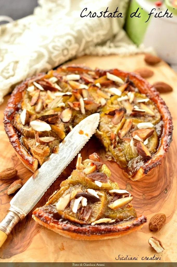 Tart figs and almonds
