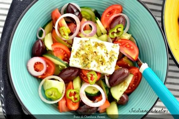 Insalata greca, ricetta originale