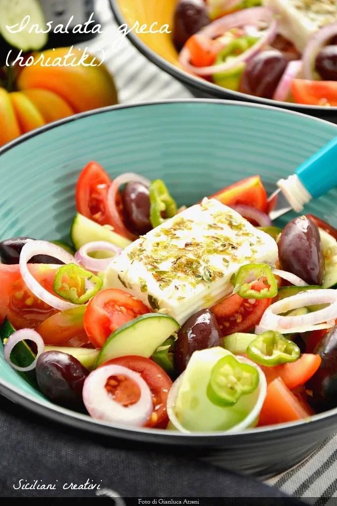 ensalada griega, receta original