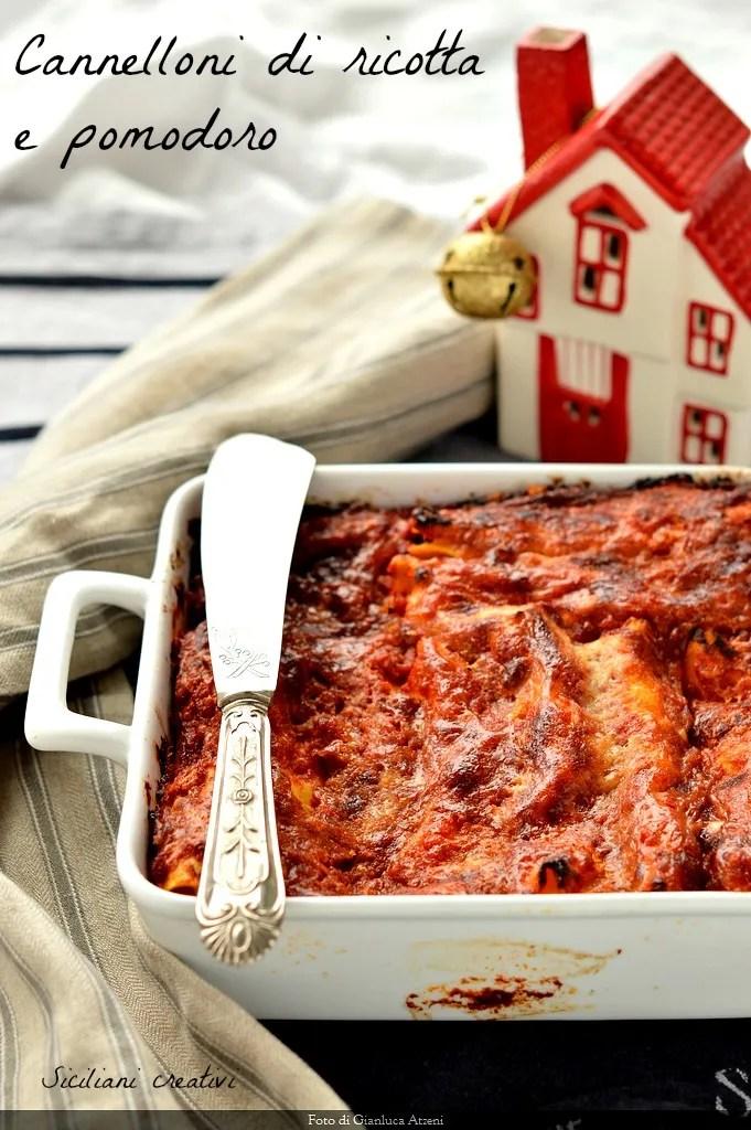 Cannelloni ricotta et tomate