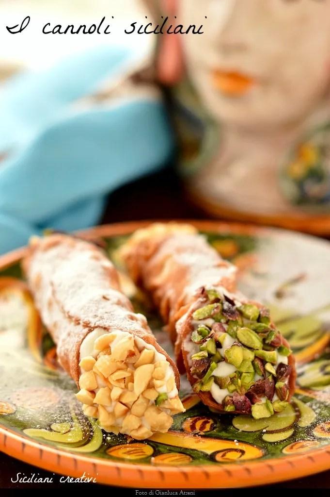 I Cannoli Siciliani Ricetta Originale Siciliani Creativi In Cucina