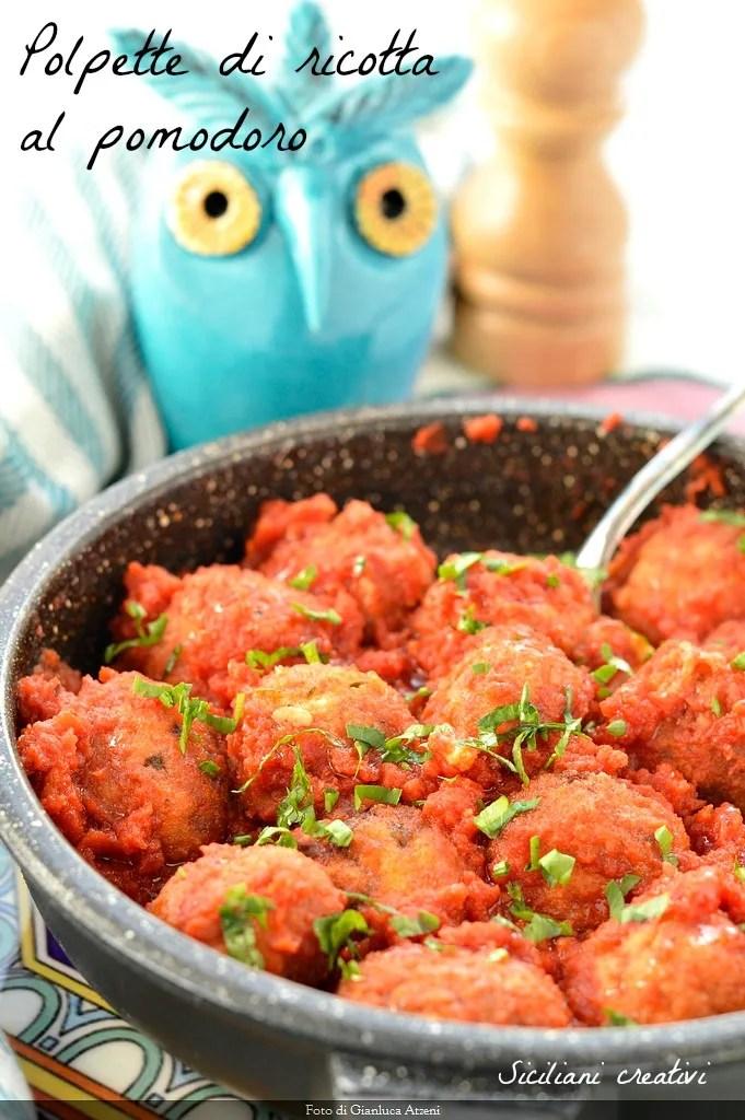 Frikadellen Ricotta Tomate