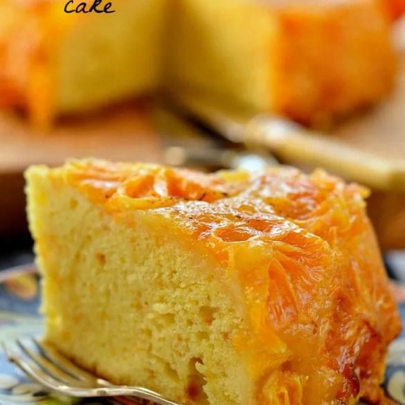 Torta rovesciata all'arancia: deliziosamente agrumata e soffice