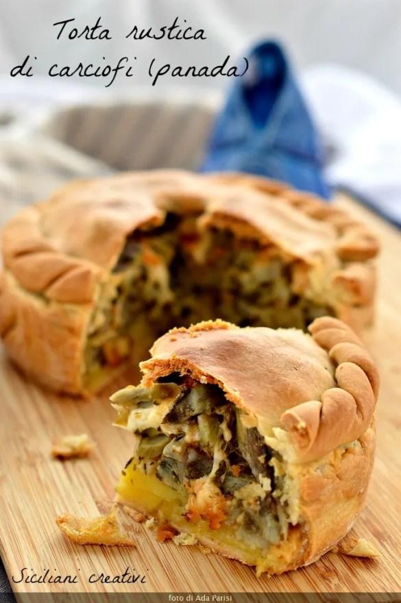 Sa Panada Sardinian artichokes, recipe Assemini