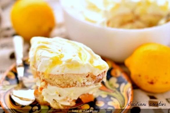 Tiramisù di limone e lemon curd