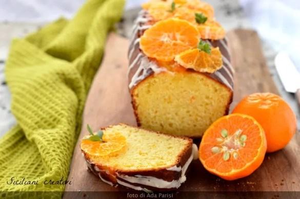 Torta di ricotta al mandarino: facile da fare, morbidissima per giorni, senza olio e senza burro. Un dolce che porta colore d'inverno, perfetto per colazione