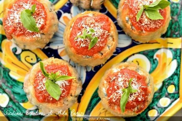 Tortino di alici alla siciliana