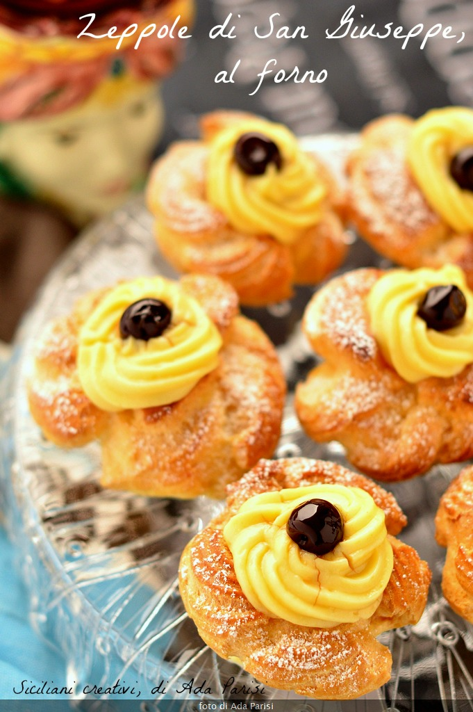 Saint Joseph S Zeppole Baked Sicilians Creative In The Kitchen