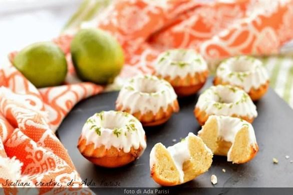 Ciambelline soffici yogurt al cocco e lime