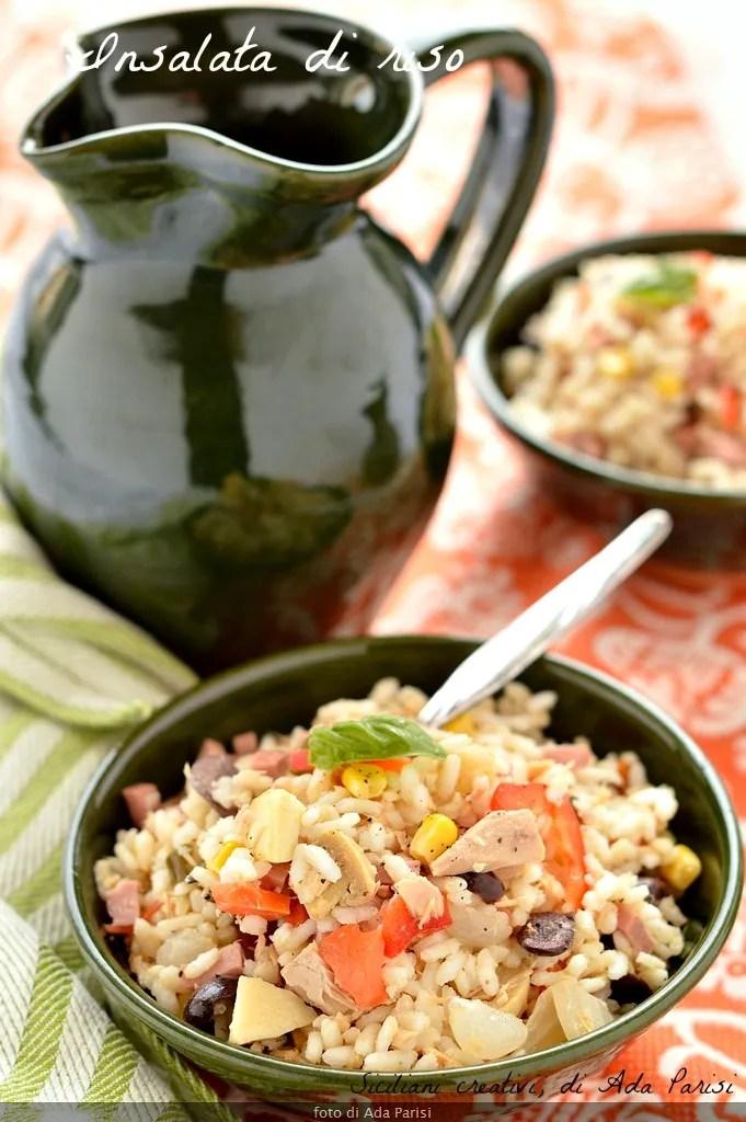 Insalata di riso, ricetta classica