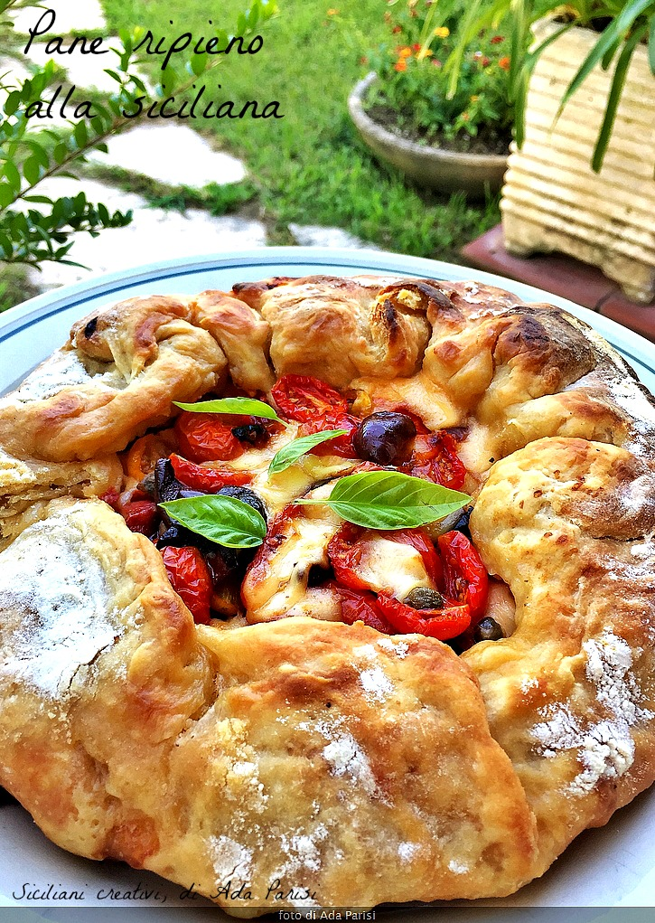 Relleno de pan de Sicilia