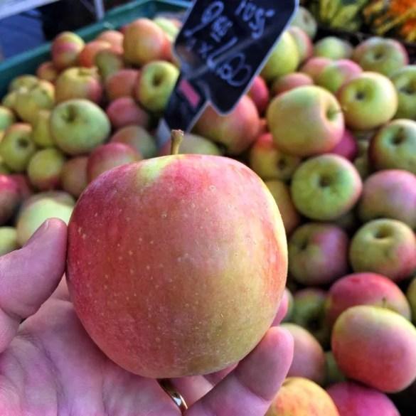 Le mele Fuji, originarie del Giappone