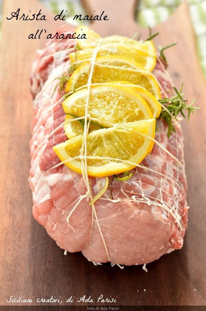 Filet de porc à l'orange, aux figues séchées, châtaignes et oignons