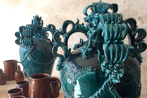 La brocca della sposa, ceramica sarda