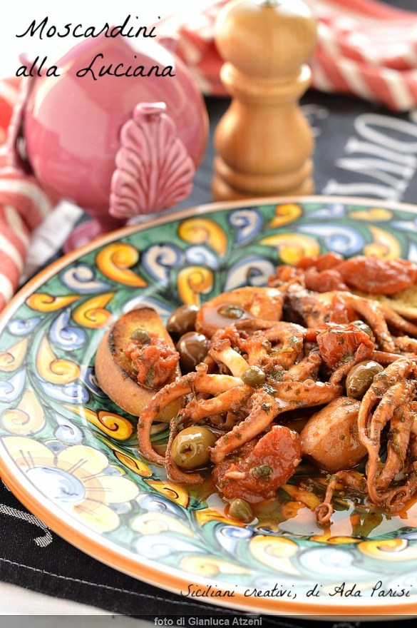 Moscardini alla Luciana: ricetta originale napoletana