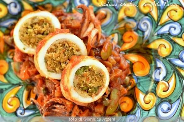 Totani ripieni a ghiotta alla messinese: ricetta tipica siciliana
