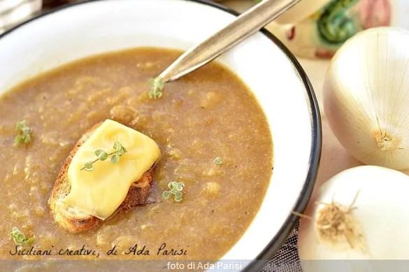 Zuppa di cipolle, ricetta originale francese
