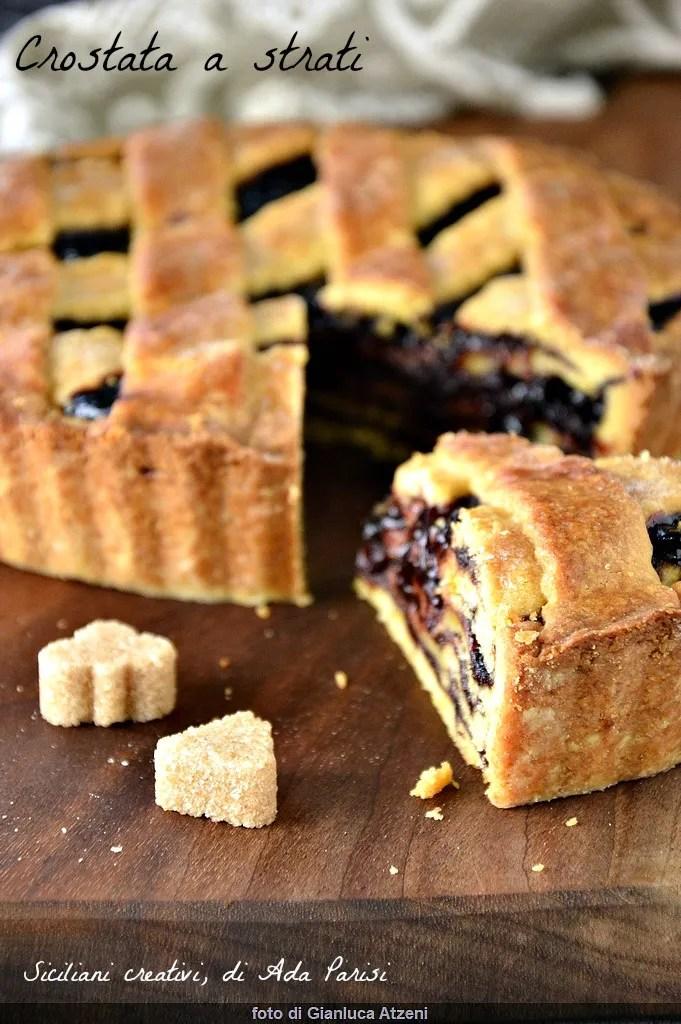 tarte aux couches: confiture et pâtisserie alternent dans une douce pulpeuses