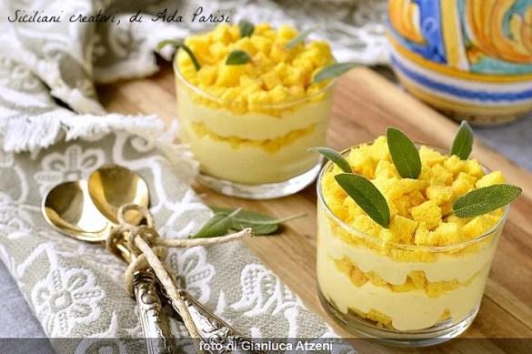 Tiramisù Mimosa al limone per l'8 marzo