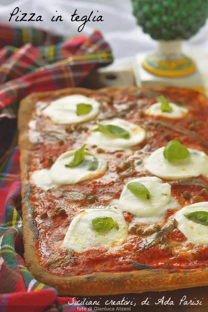 Diät hausgemachte Pizza