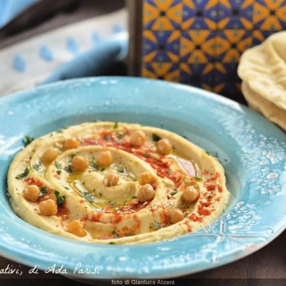 Hummus (crema di ceci e tahini)