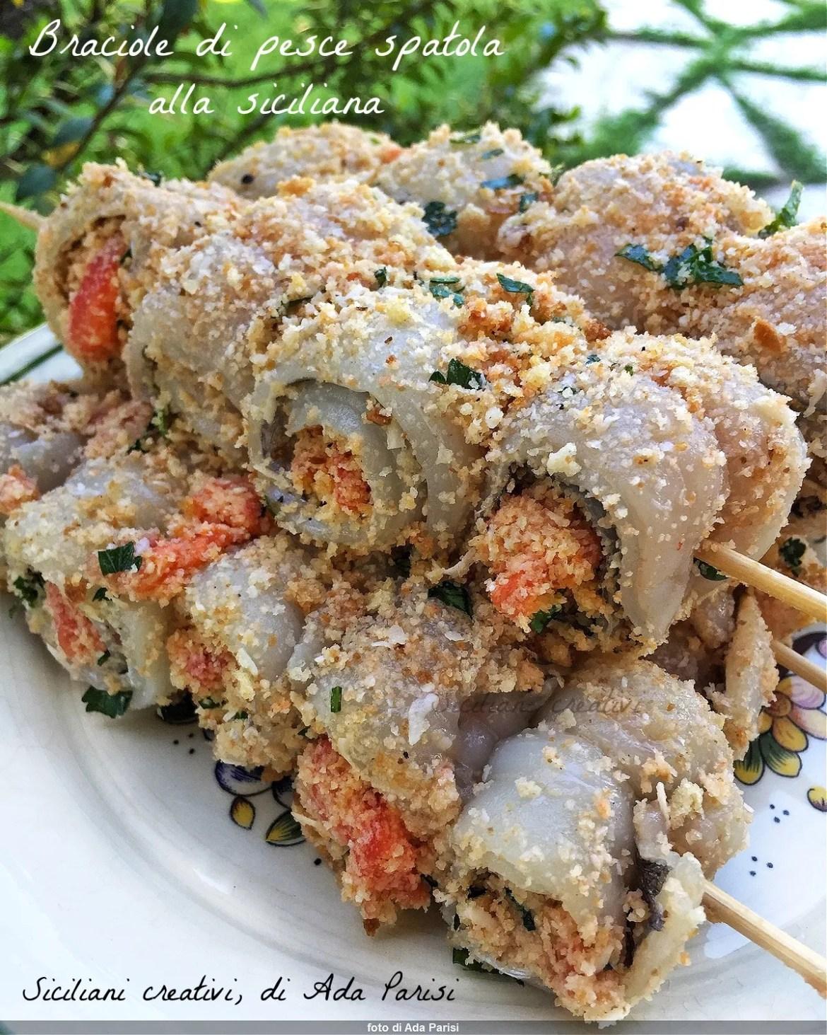 Chuletas de espátula siciliana