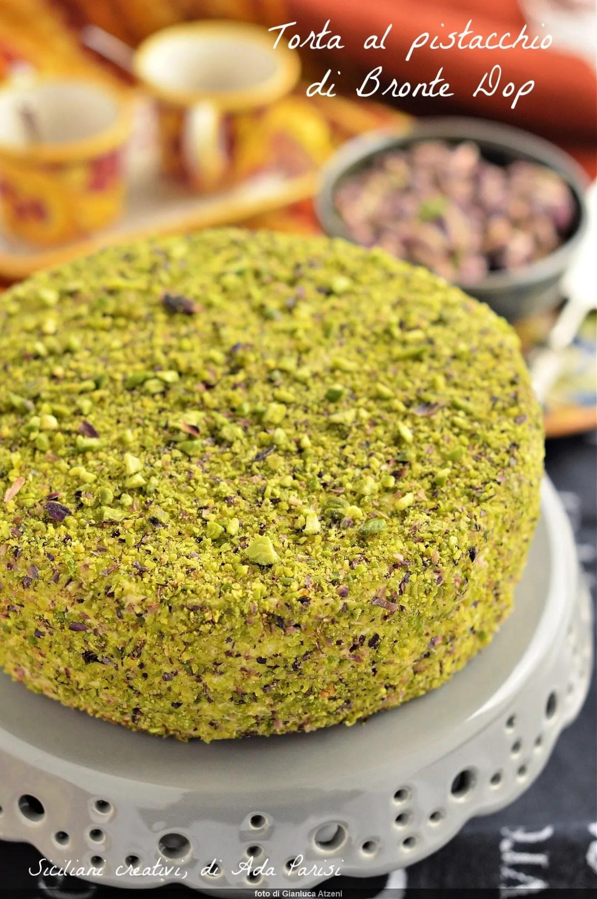Gâteau à la pistache sicilienne par Bronte Dop