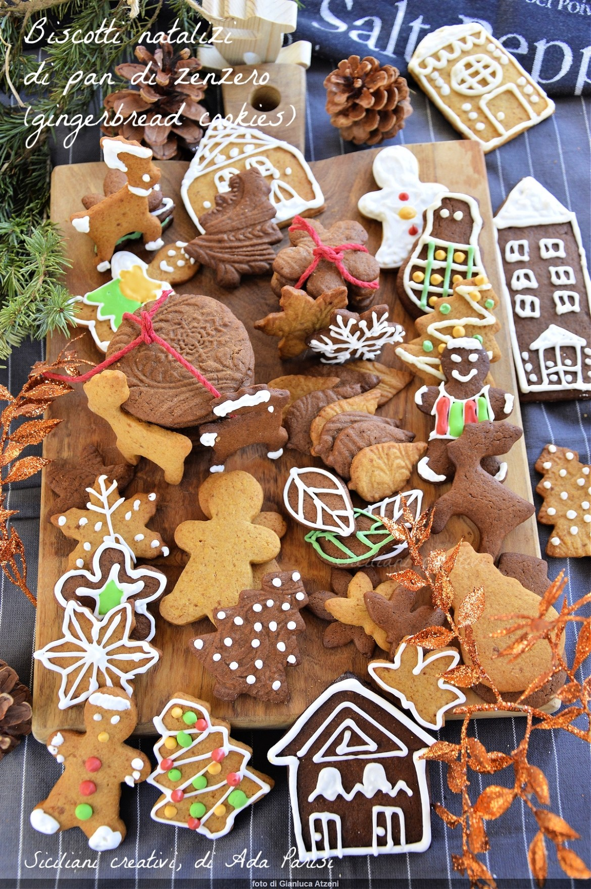 Gingerbread Christmas cookies (Gingerbread cookies)